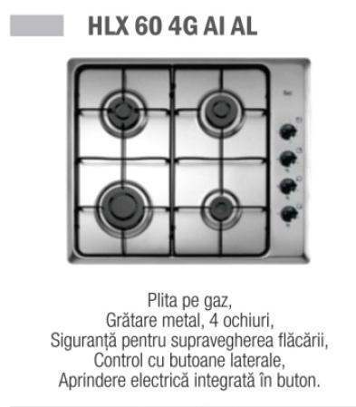Plita TEKA HLX 60 4G AI AL