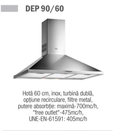 Hota Teka DEP 90 - 90 cm