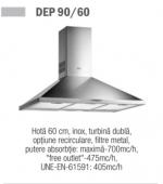 Hota Teka DEP 60 - 60 cm